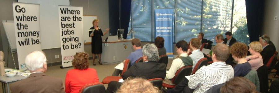 Judy presents to Otago Interns